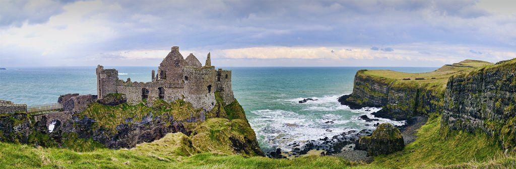 Ireland Dunluce Castle