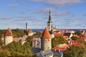 Tallin Estonia city