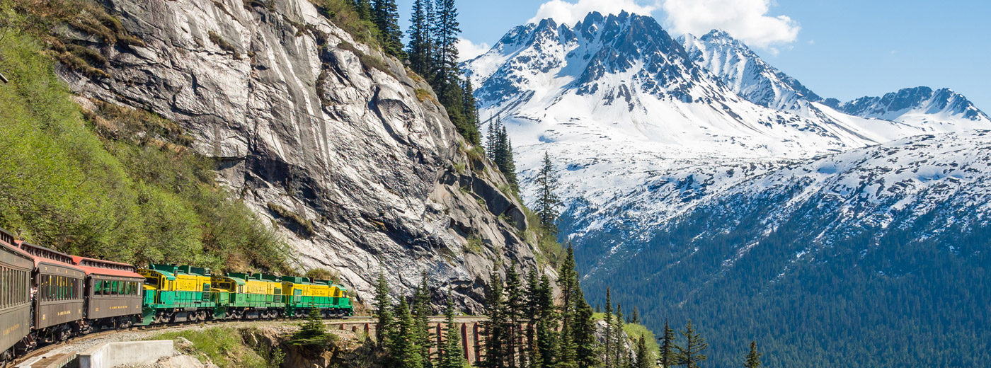 Alaska-Whitepass-train