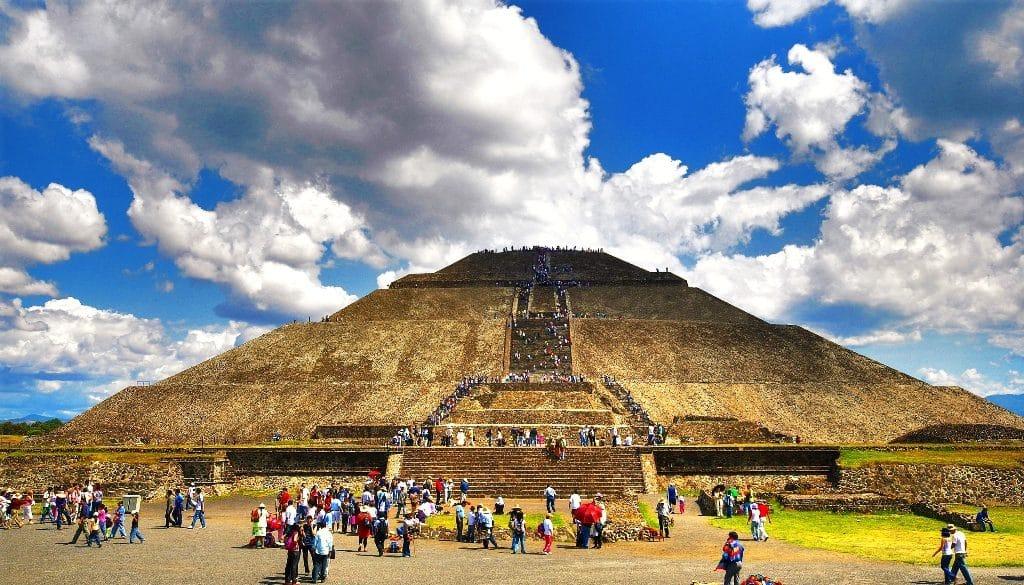 Teotihuacán de tamaño