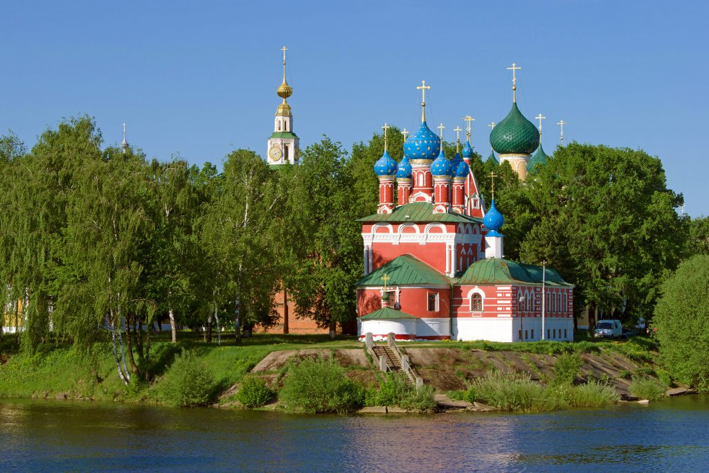 Church of the Dmitry in Uglich, Russia