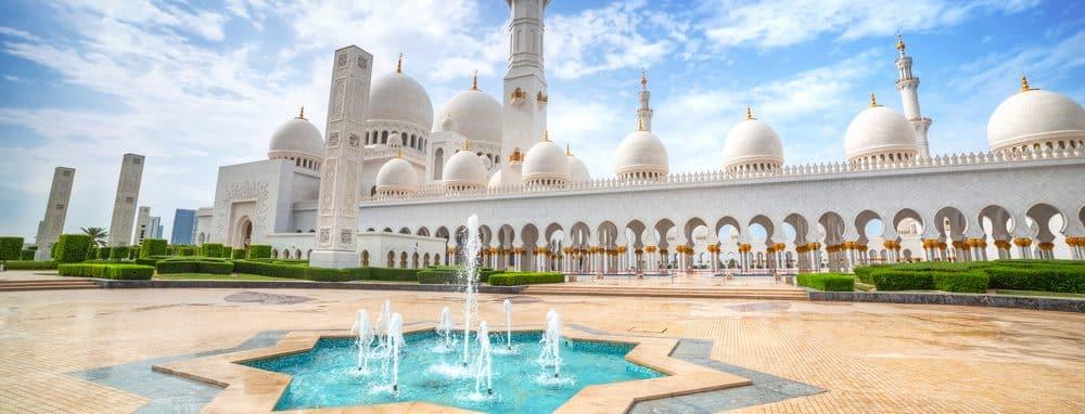 "Sheikh Zayed ""Grand Mosque"" at dusk (Abu-Dhabi, UAE)"