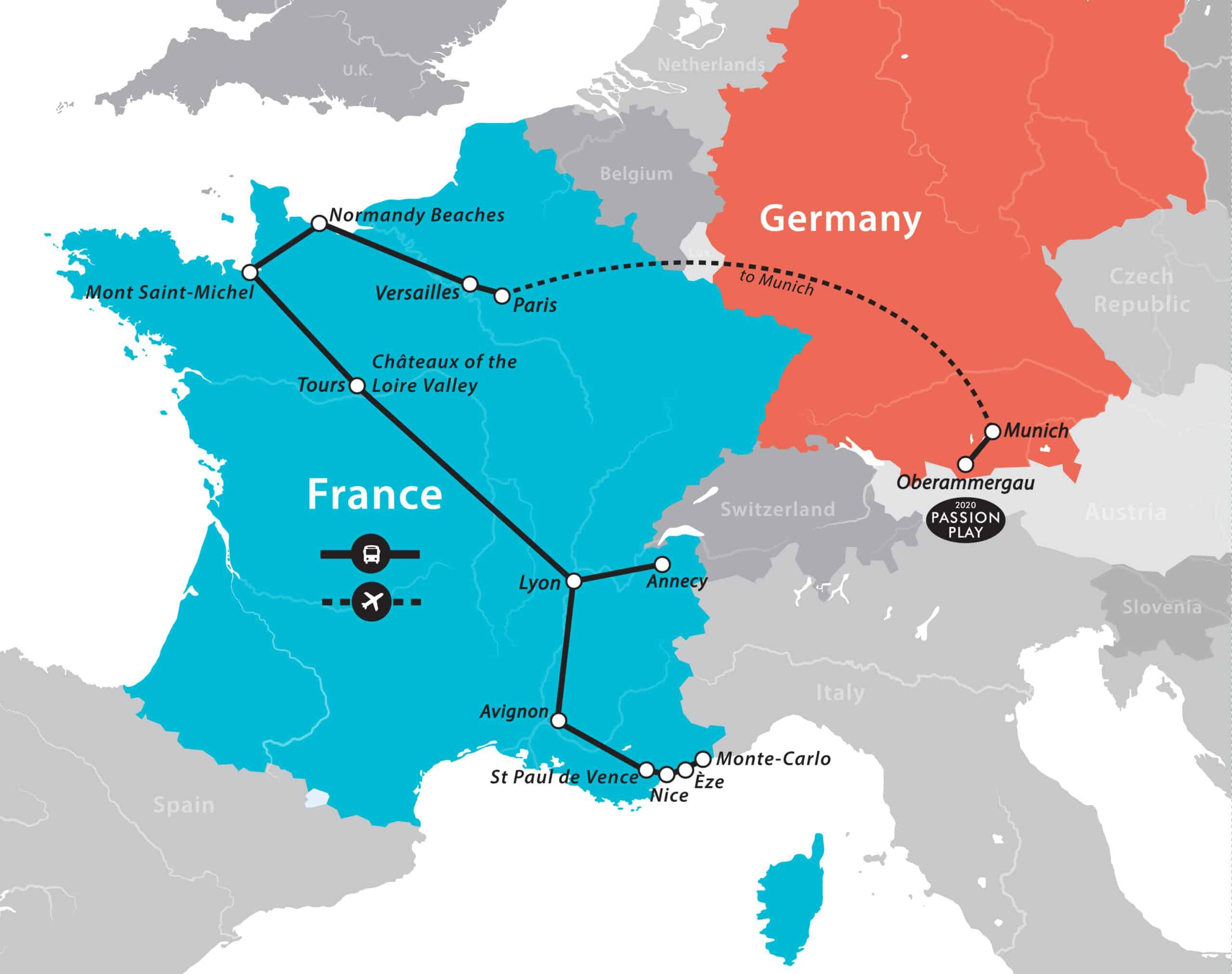 France Tour Fun For Less Tours