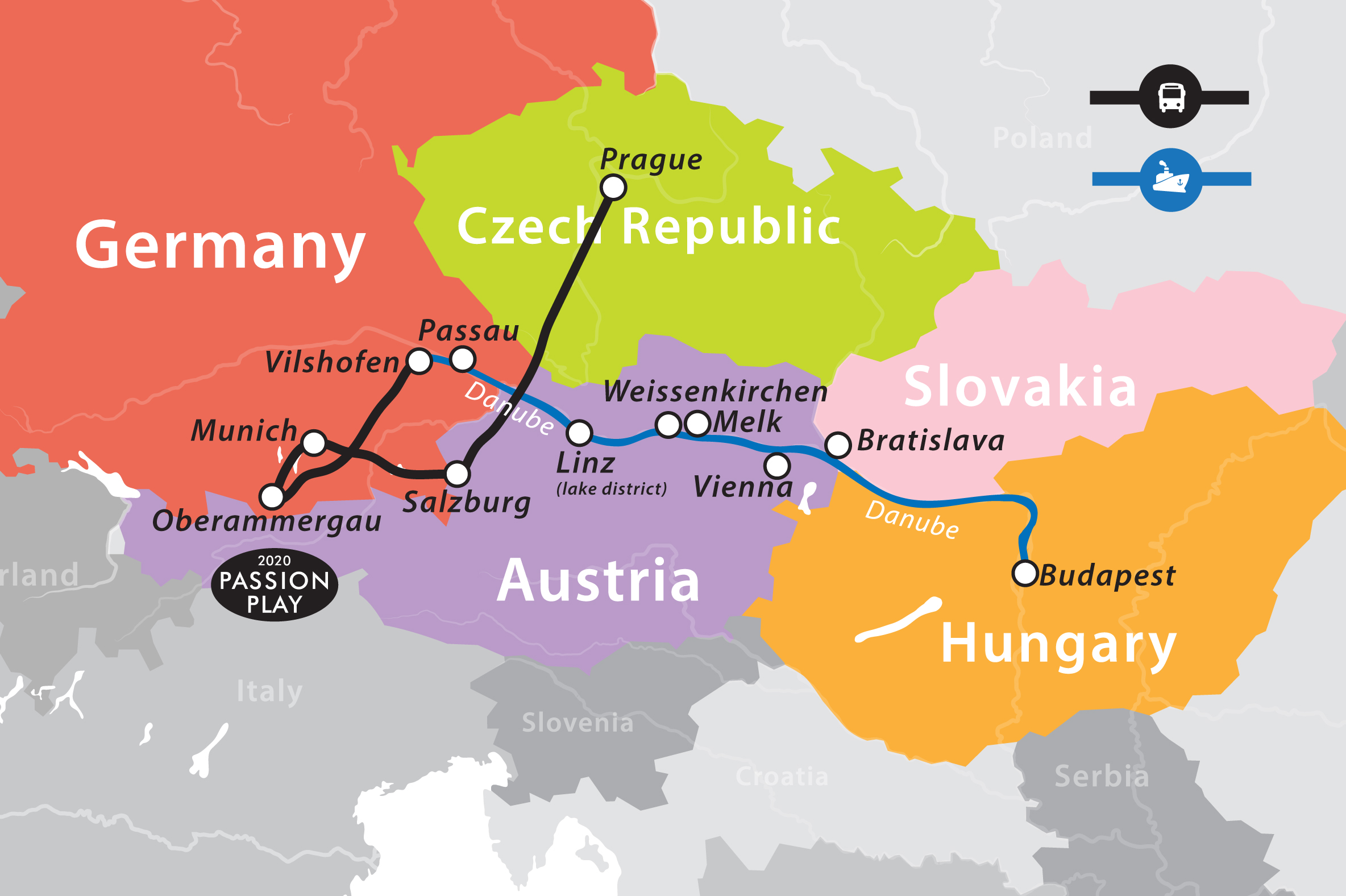 Group 1 Romantic Danube River Cruise Prague To Budapest Fun For