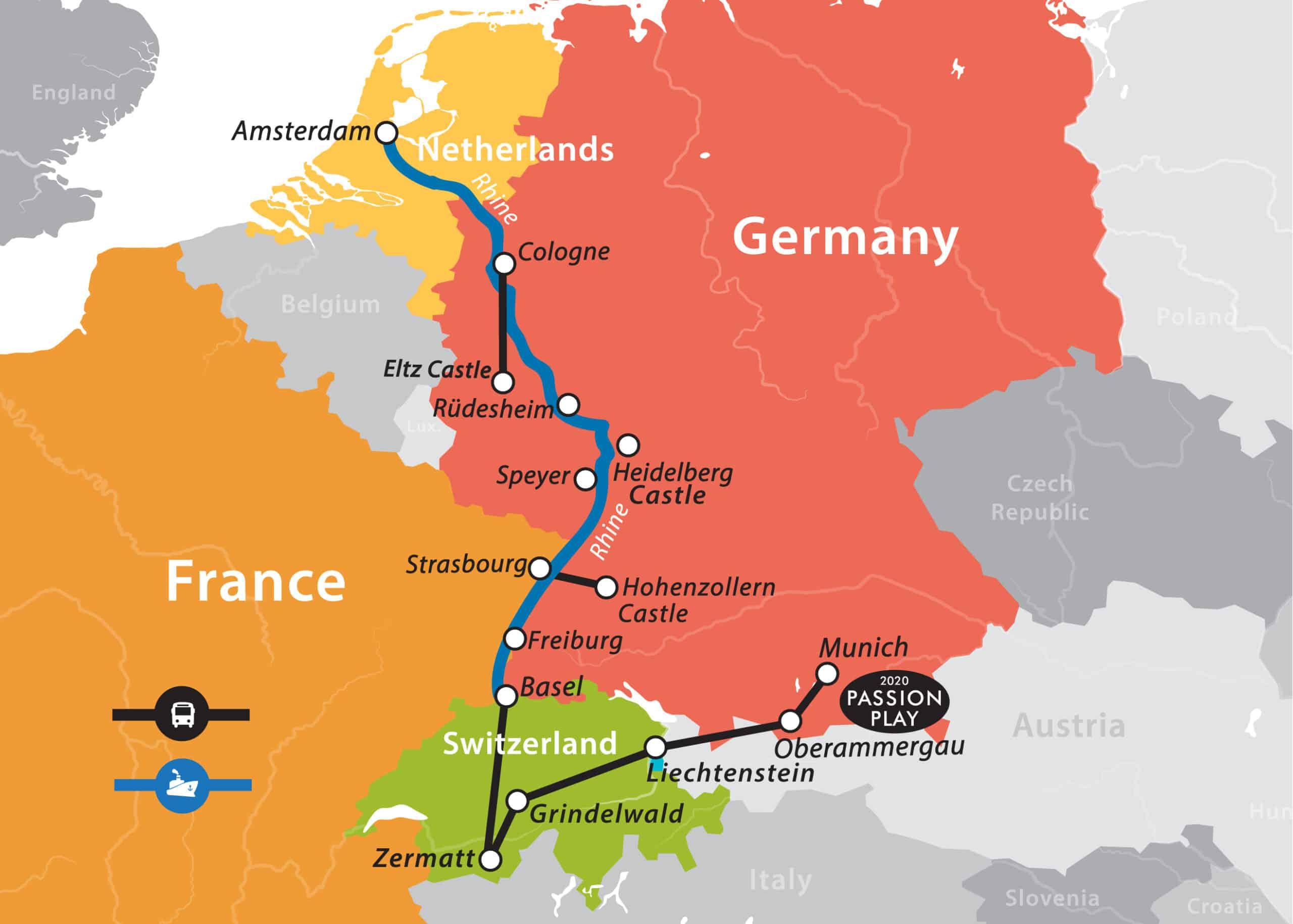 Group Rhine River Cruise Fun For Less Tours - Rhine river